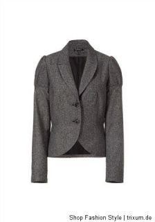 Marken Mode,APART,Tweed Blazer,Schwarz Weiss,Business,Gr.42,46 UVP