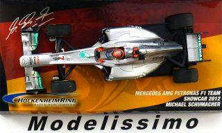 43 Mercedes AMG Schumacher Hockenheim 2012 Ltd.1000p.