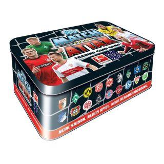 TOPPS MATCH ATTAX Tin Box 2012/2013   Sammeldose   Sammelbox