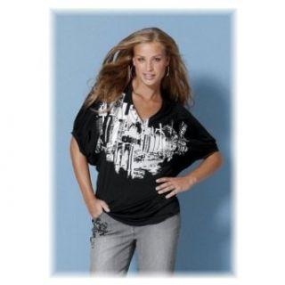 Damen Shirt TUNIKA FLEDERMAUSÄRMEL, von 4 WARDS, KK 337698, Viscose