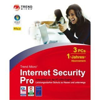 Trend Micro Internet Security Pro (1Jahr) Software