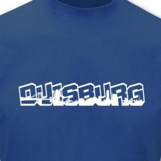 Shirt Duisburg Schriftzug Skyline Graffiti Sols 8 Farben S   5XL