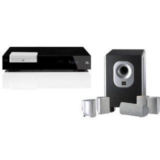 JBL CSP 340 DVD Heimkino System mit 5.1 Elektronik