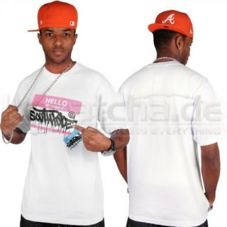 Southpole Hello My Swag T Shirt White