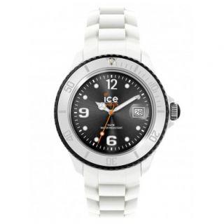 Ice Watch Uhr SI.WK.U.S.11 White Black Unisex Armbanduhr NEU