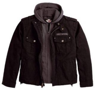 Harley Davidson Jacke Skull 3 in 1 98415 08VM Herren Outerwear