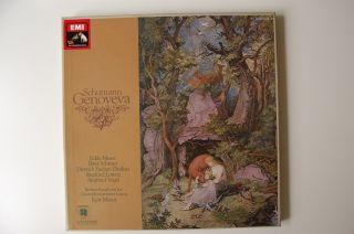 Schumann, Genoveva, Kurt Masur, EMI SQ, 3 LP Box