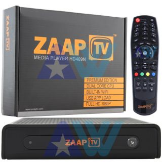 1080p Receiver Arabic Turkish Greek Channels Zaap TV HD 409