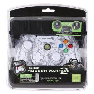 Xbox 360   Controller Call of Duty   Modern Warfare 2 White