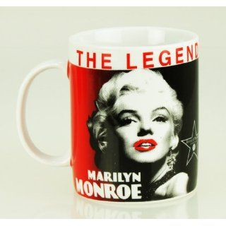 MARILYN MONROE Retro Style Tasse Kaffeetasse Mug THE LEGEND