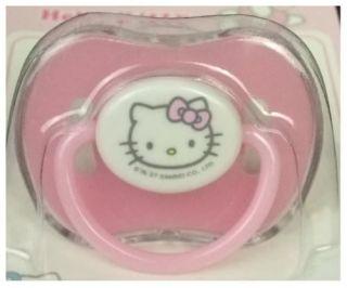 Baby Schnuller Sanrio Hello Kitty 0 6 oder 6 24 Mon Neu
