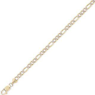 Karat (375) Gold Damen   Armband 190mm [Schmuck] Schmuck