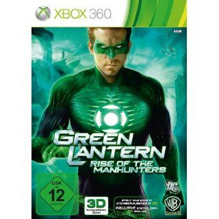 Green Lantern Rise of the Manhunters Xbox 360 Games