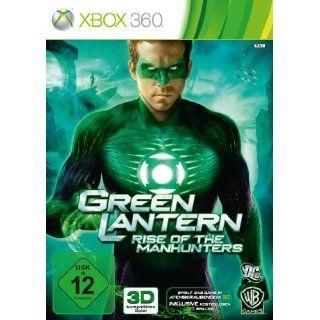 Green Lantern Rise of the Manhunters Xbox 360 Games