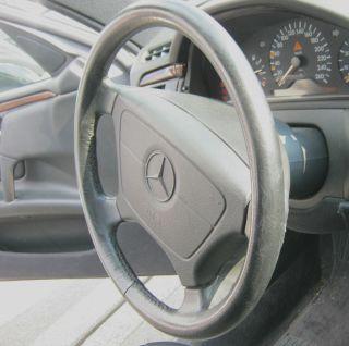 Lenkrad Leder Lederlenkrad ohne Airbag Mercedes Benz W210 E420 T