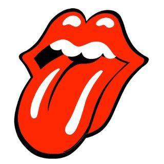 Aufkleber Rolling Stones Mirror Zunge Aufkleber Sticker (Nr. 1895