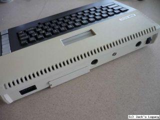 BOXED Atari 800XL 800 XL VGC + PAC MAN game + manuals + PSU +TV cable
