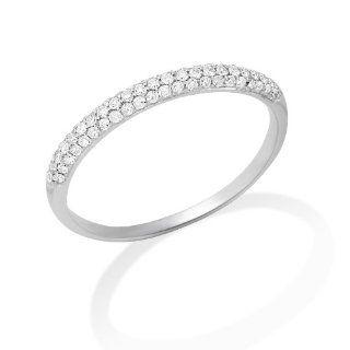 Miore Memoire Damen Ring 375 Weißgold Brillanten 0,09ct