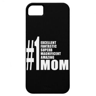 Mothers Day Birthdays Christmas Number One Mom iPhone 5 Case