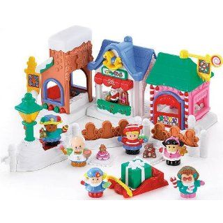 Fisher Price Little People Christmas On Main Street   Grosses Spielset