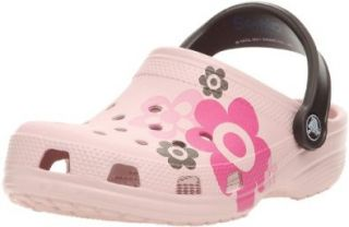 Crocs Classic Hello Kitty Flowers, Damen Clogs/Pantoletten