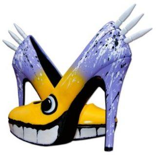 ArtBrake Damen Schuhe Maneater Monster High Heels Shoes Plateau Pumps