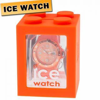 19 ORIGINAL ICE WATCH SI.OE.U.S.09 Sili Armbanduhr Uhr Damen Orange