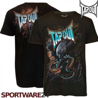 TapouT Ryan Bader Darth Eagle T Shirt UFC 139 MMA M/L/XL/XXL schwarz
