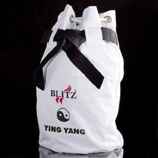 Weißer Seesack Ying Yang Sport & Freizeit