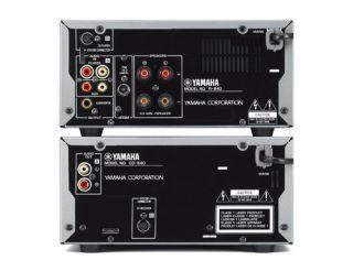 Yamaha PianoCraft 640 Kompaktanlage schwarz Elektronik