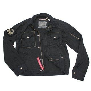LP 400 black 3XL, Alpha Industries Flight Jacket Motorrad
