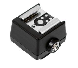 geeignet für Blitzgeräte mit Mittenkontakt Blitzfuß (z.B. von Canon
