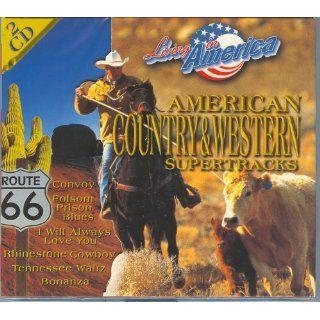 American Country & Western Supertracks verschiedene
