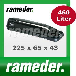 Dachbox Gepäckbox Dachcontainer Rameder black line 460