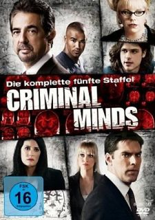 Criminal Minds (Die komplette 5. Staffel)  6 DVD  444