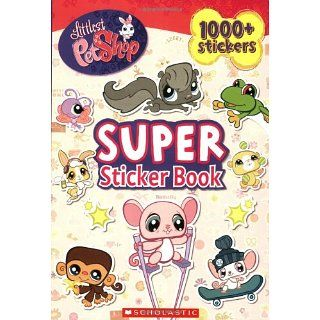 Super Sticker Book [With 1000+ Stickers] (Littlest Pet Shop)