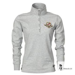HV Polo Damen Shirt Mace silvergrey (silber grau) Winter 2012/13 Neu