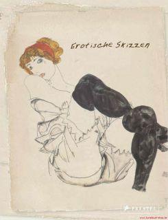 Fachbuch Erotische Skizzen, A. Rodin, E. Degas, G. Klimt, E. Schiele