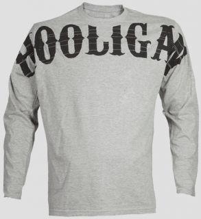HOOLIGAN Longsleeve Shirt Visual   Sportsgrey