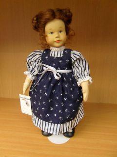 Krahmer Puppe Fanny Dirndl Holzkopf  V447 *NEU*