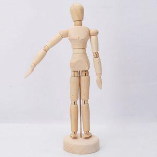 Art Artist Wooden Figure 8 Male Manikin Mannequin Model Drawing skech