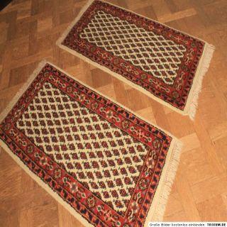 Feiner Handgeknüpfter Perser Teppich Set Saruk Mir Tappeto Carpet Rug