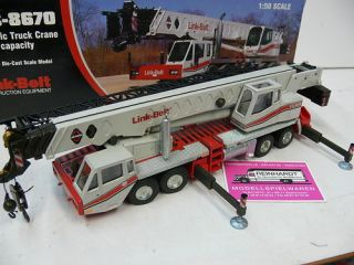 50 NZG 468 HTC 8670 Link Belt Hydraulic Truck Crane 70t