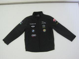 AvD Oldtimer GP Grand Prix Sponsoren Windbreaker/ Jacke 2011 schwarz