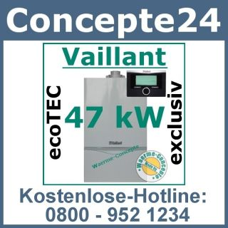 Vaillant ecoTEC VC 466/4 7 47 kW 470 Gas Brennwert Therme Gasheizung