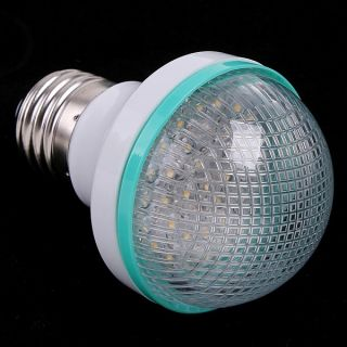 220V 38 E27 Screw Warm White LED Light Bulb 3000K 3500K