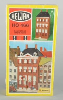 HELJAN HO BUILDING KIT #466 REMBRANDT HOUSE AMSTERDAM SEALED IN BOX