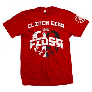 Clinch Gear Fedor Emelianenko Double Eagle T Shirt MMA