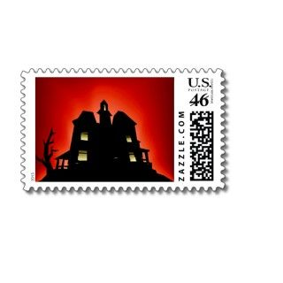 Halloween Party Accessories Postage Stamp