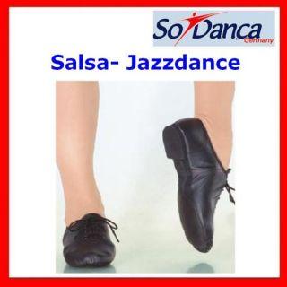 SO DANCA SoDanca SALSA JAZZDANCE SCHUHE CHROMLEDER NEU